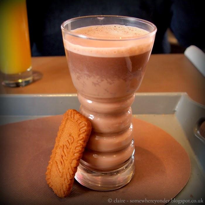 Belgium hot chocolate