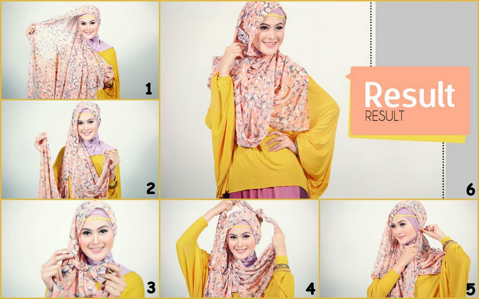 Hijab Gaya Simple Untuk Pesta | Ferrina Jaya Fashion
