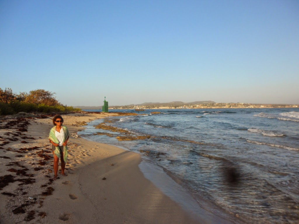 An image of Playa Blanca which is near to Gibara in Eastern Cuba
