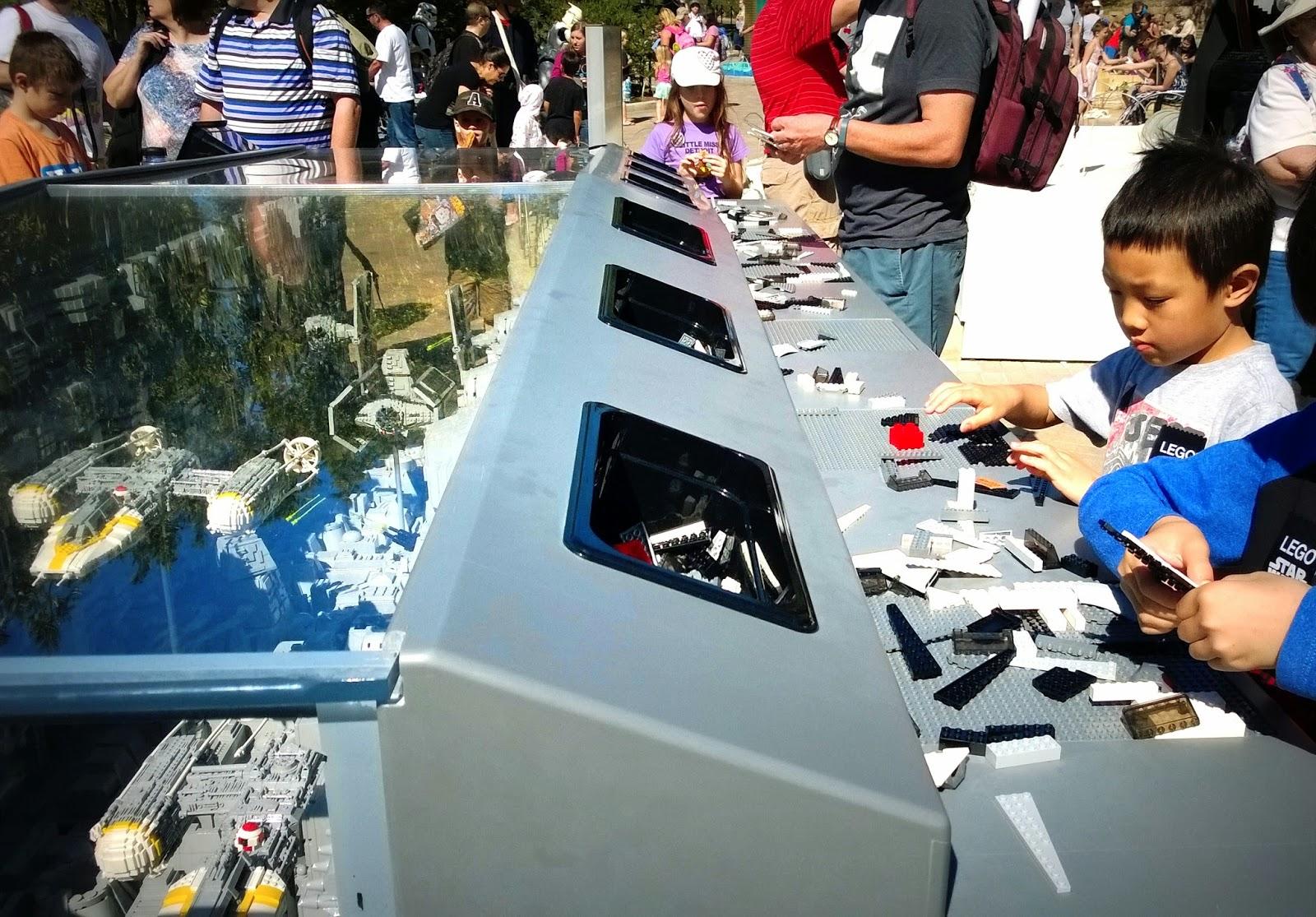 Legoland California Star Wars Days