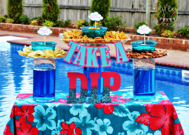 #dipyourway #collectivebias #sponsored #ad #diprecipe #poolparty