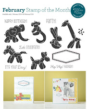 "FEBRUARY 2016 SOTM ""Balloon Animals"" Set of 13"