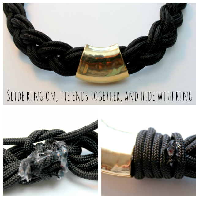 how to join 2 pieces of paracord