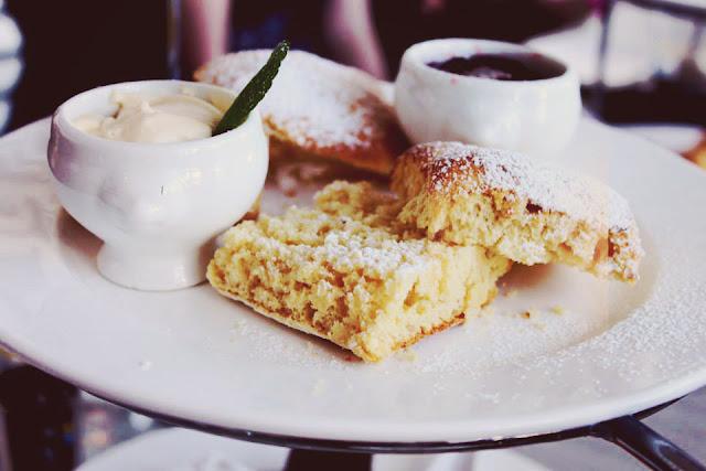 scones, high tea, jam, scone, food
