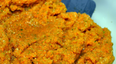 Vegetable Puree for Braised Short Rib Base - Photo by Taste As You Go