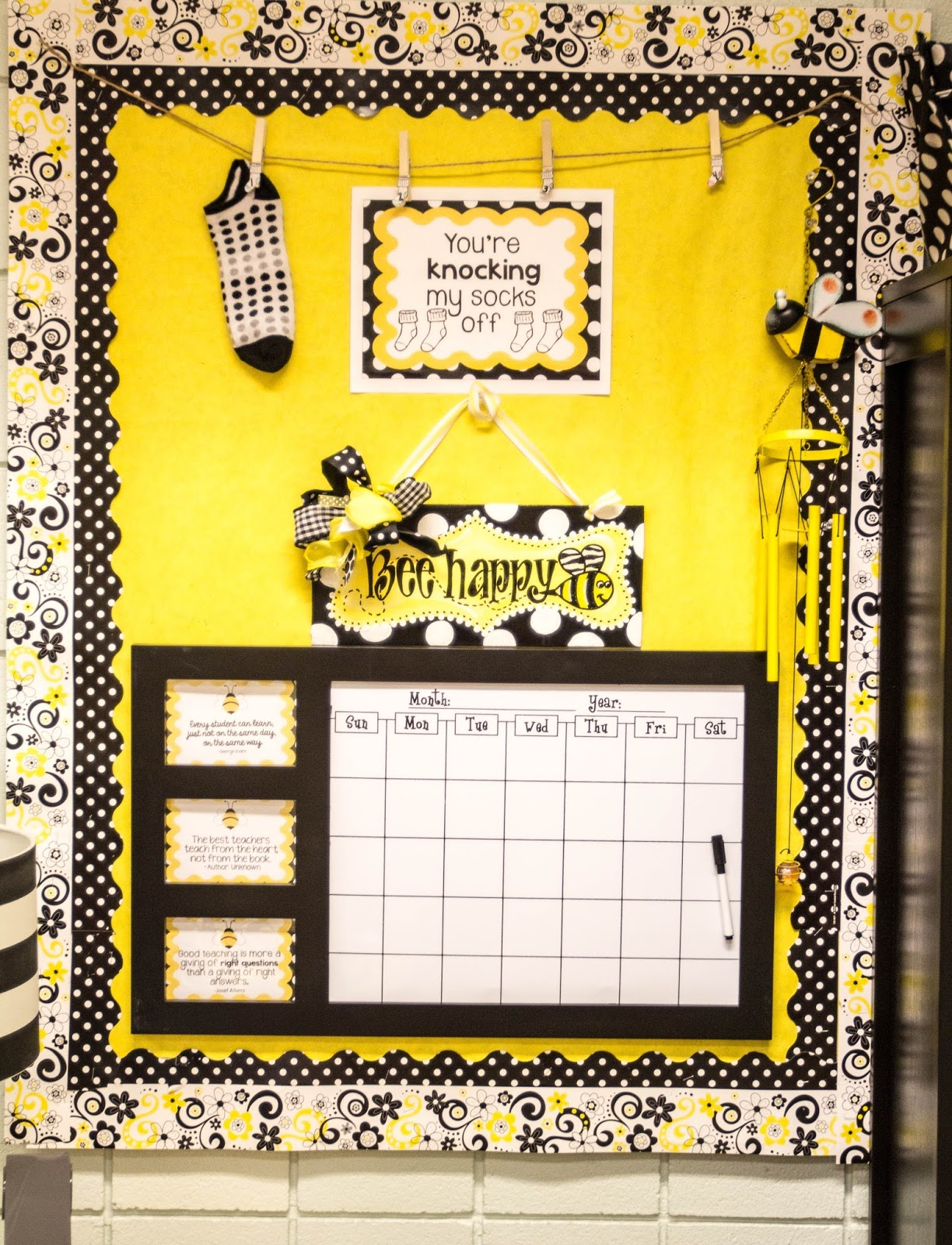 Yellow Classroom Decor ~ Run miss nelson s got the camera monday made it braggin