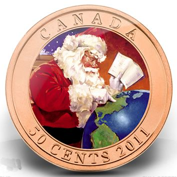 Santa coin 2011