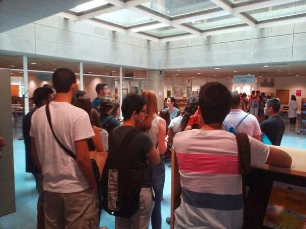 alumnos de Economía y Empresa de visita a la BUM.