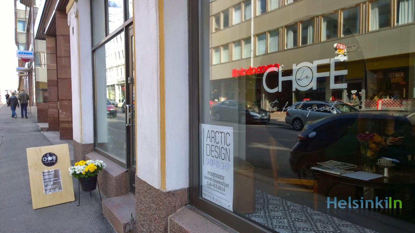 Café Chofé in Lönnrotinkatu