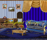 Delightful Rooms digital fantasy backgrounds