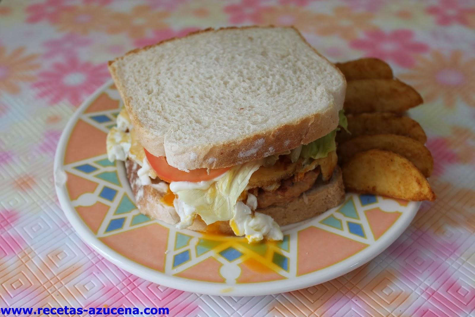 Mis recetas hamburguesa de pescado - Hamburguesas de pescado para ninos ...