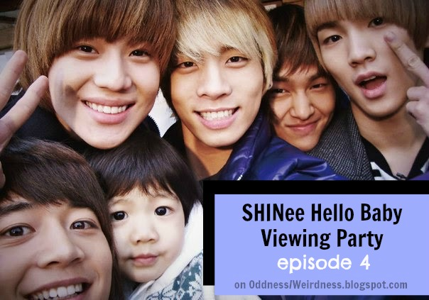 shinee hello baby viewing party ep 4 eng sub