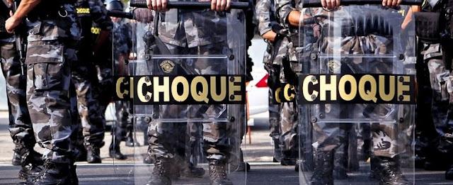 Polícia Militar violenta do Paraná que assusta moradores