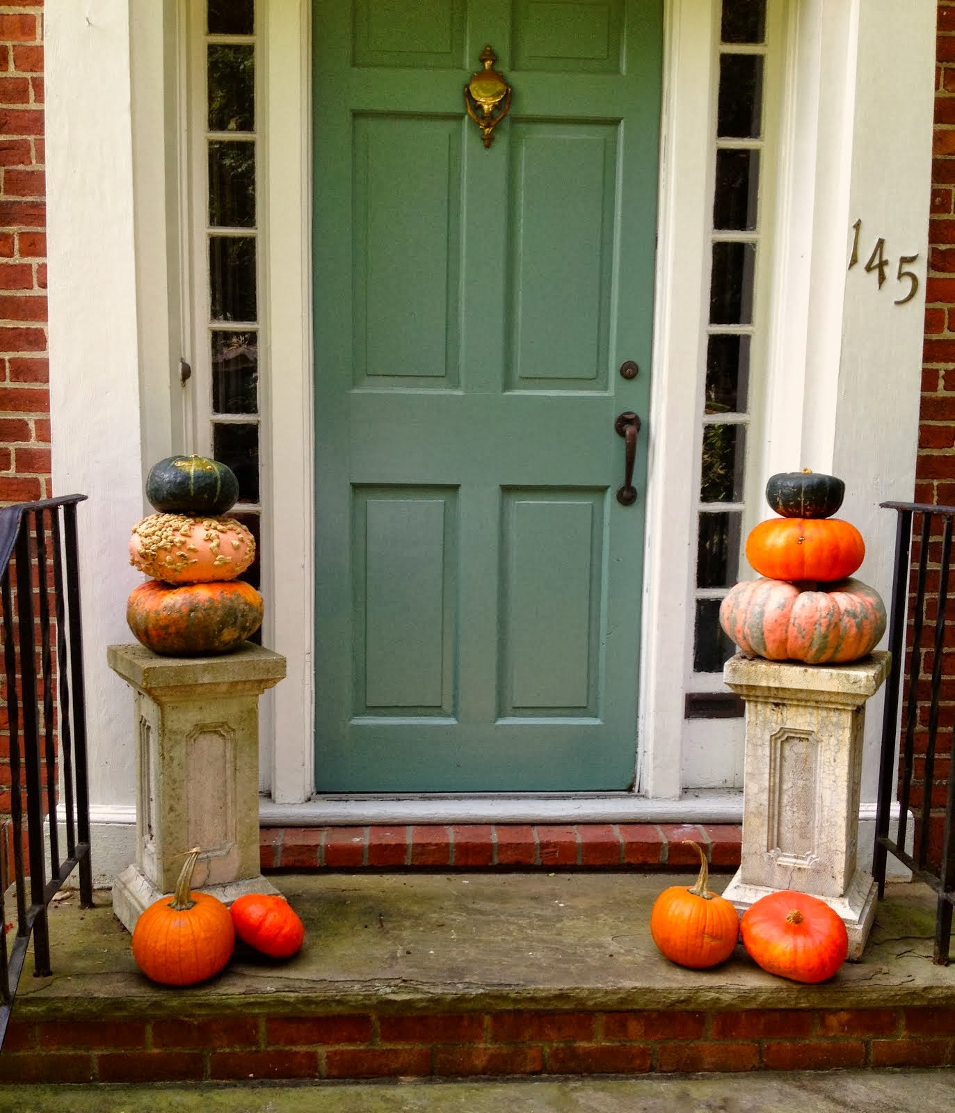 Fall front door