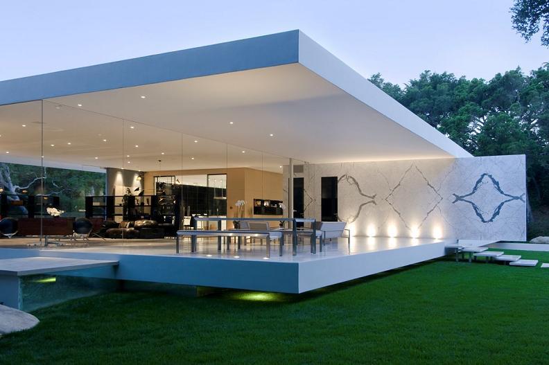Construindo minha casa clean 35 fachadas de casas for Casa minimalista arquitectura