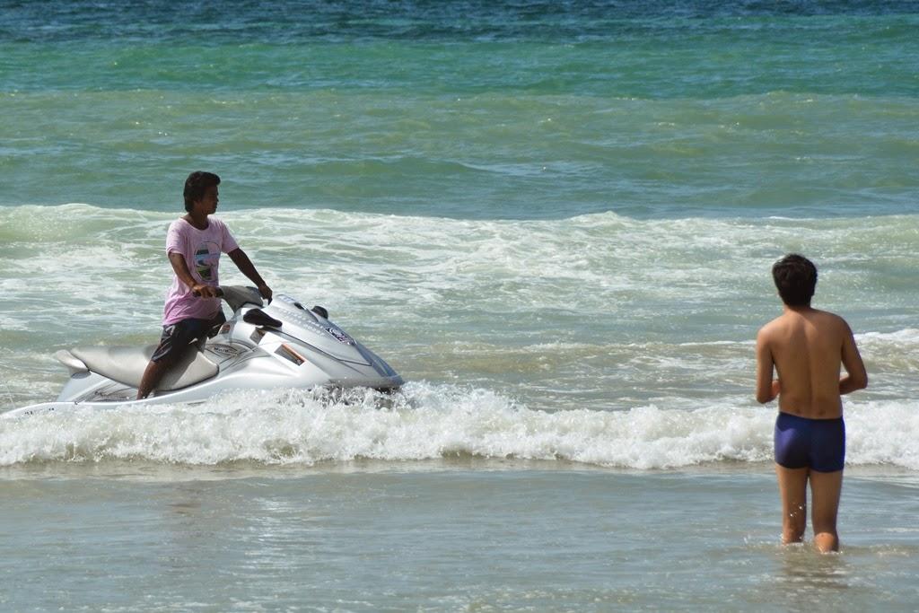Patong Beach Phuket jet-ski