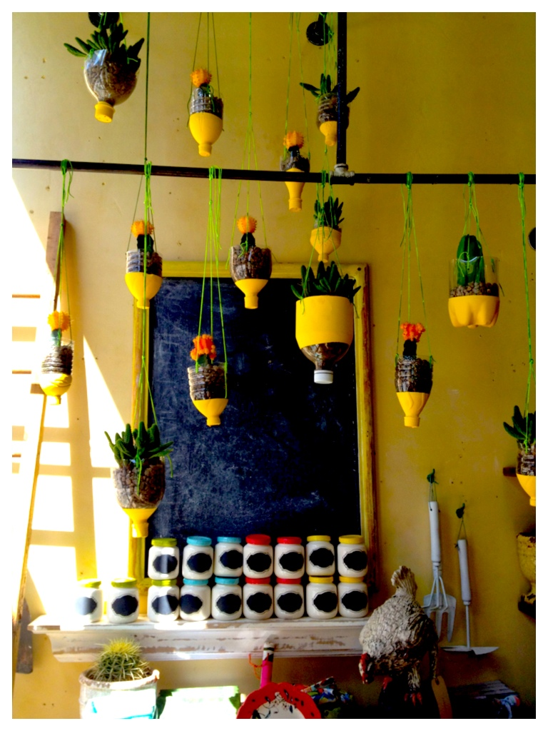 How to Recycle: Recycled Hanging Planters