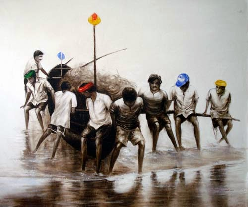 """A Jouney for Life"" Solo Exhibition of Realistic Paintings by Sanjoy Mal"