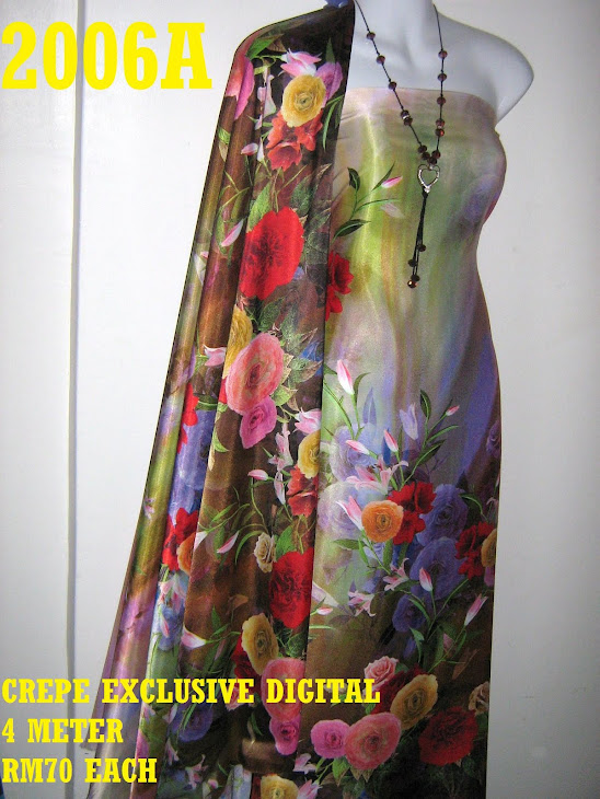 CP 2006A: CREPE EXCLUSIVE DIGITAL PRINTED, 4 METER