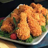 gambar ayam goreng friend chicken dan teksas