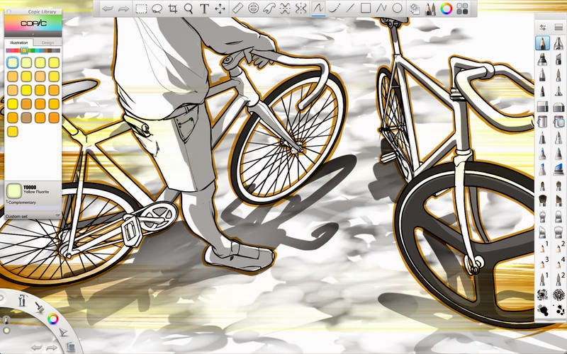 how to use layers in sketchbook pro