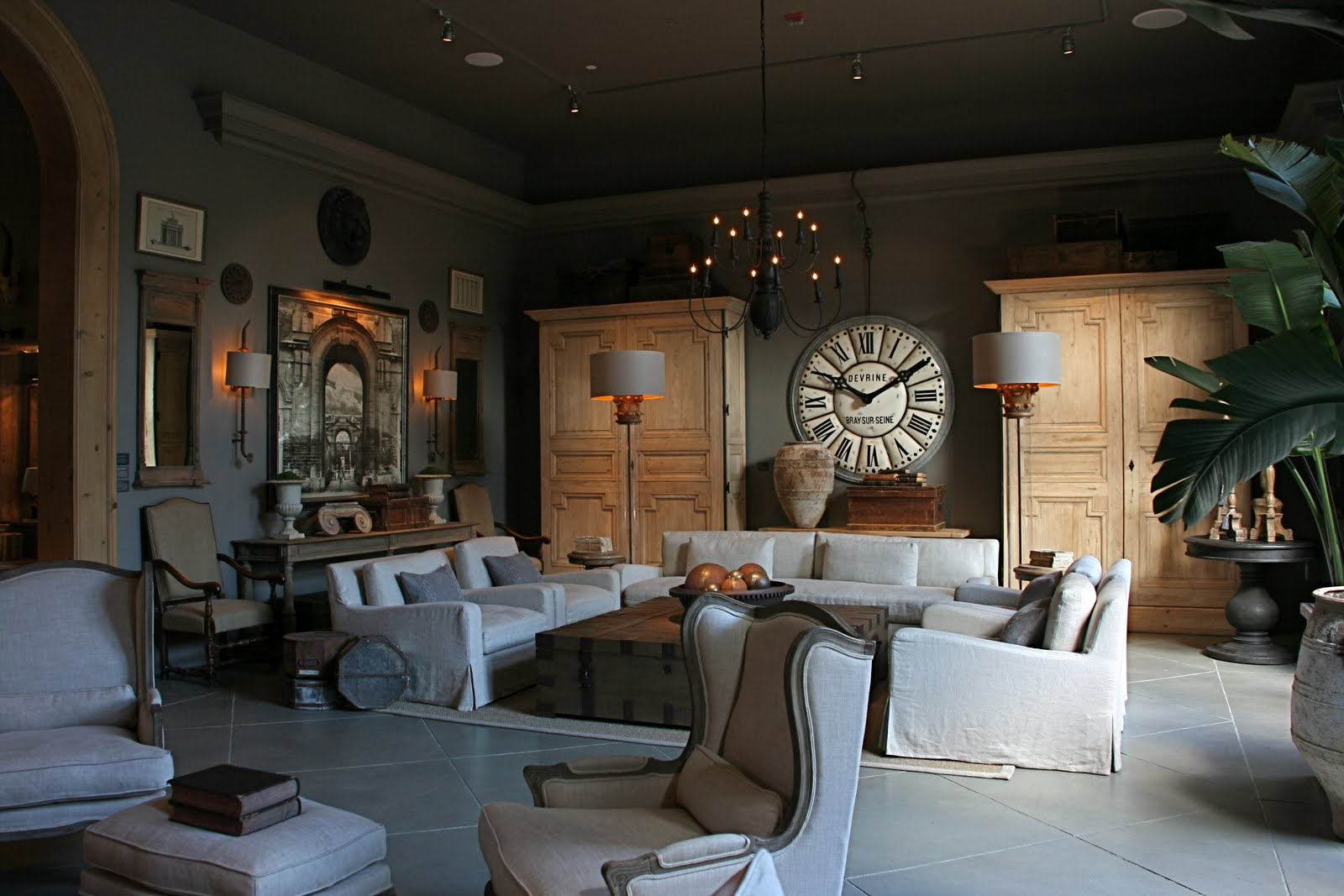 vignette design The San Francisco Restoration Hardware Gallery