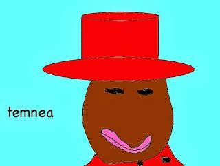 Te-Manea in her hat