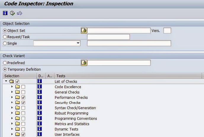 simple guide to code inspector in sap abap sap techno functional rh saptechnofunctional com All SAP T Codes Navigate around SAP Codes