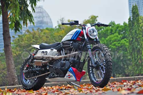 Foto Modifikasi Harley-Davidson Sportster