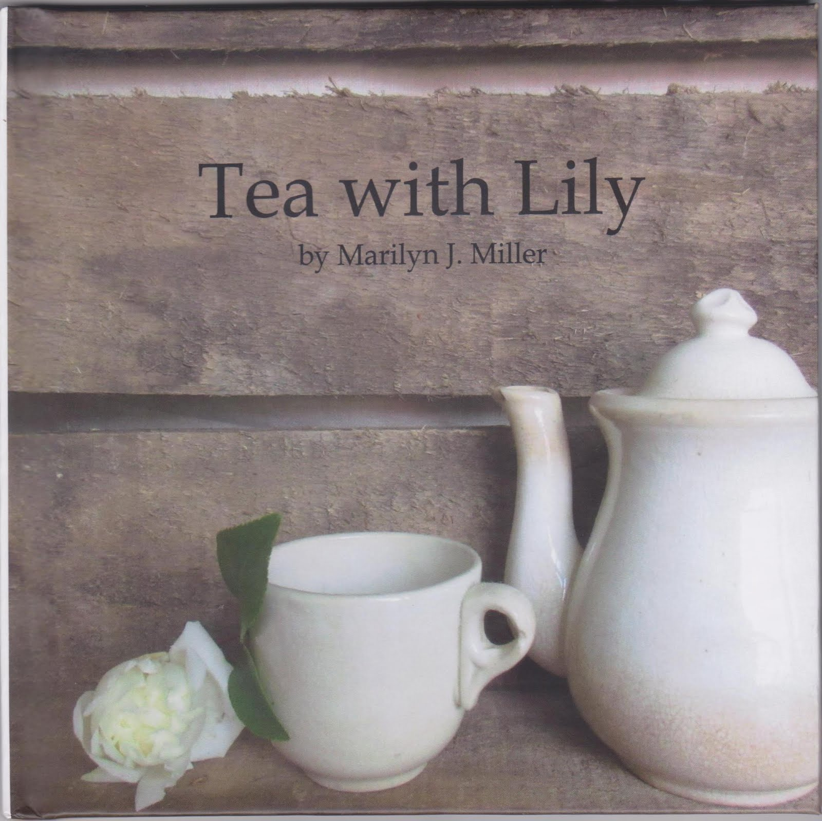 Tea Party in your Cupboard, Tea Outdoors, Tea with Lily