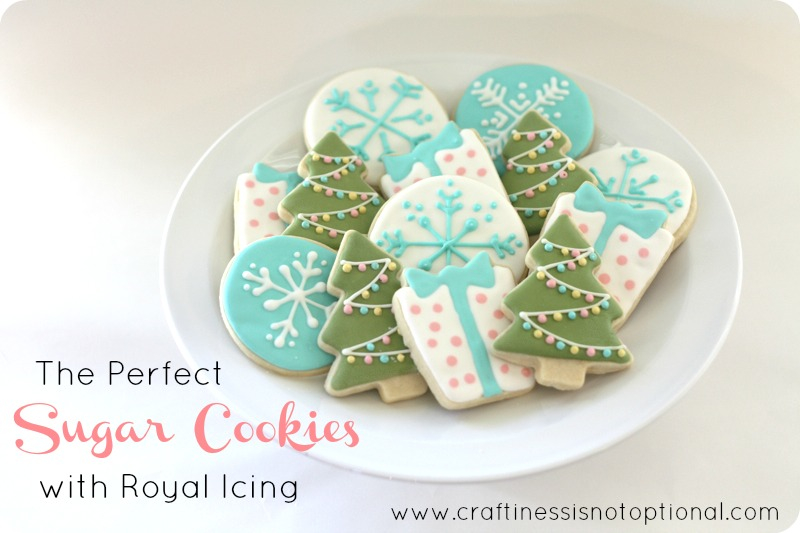 Christmas Cookie Box And Recipes