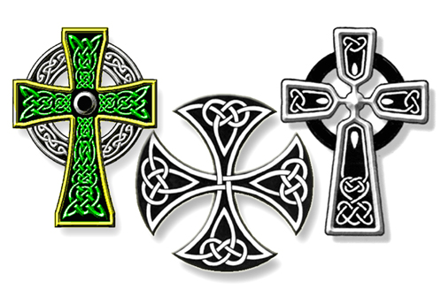 celtic cross tattoos for women