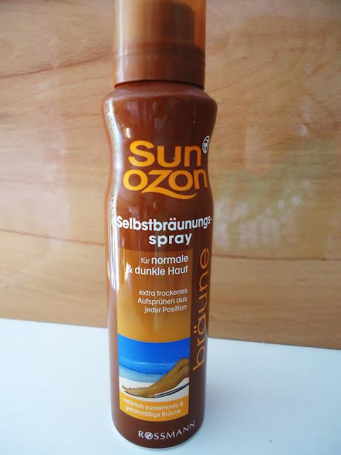 Samoopalacz Sun Ozon by Rossmann