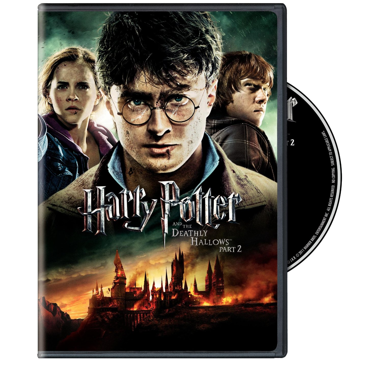 Harry Potter and the Deathly Hallows: Part 2 Blu-ray/DVD ...