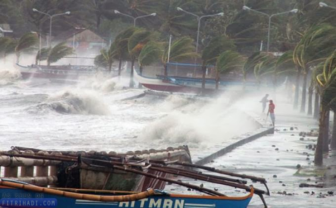 Artikel Taufan Haiyan Adalah Bala Robohkan Masjid?
