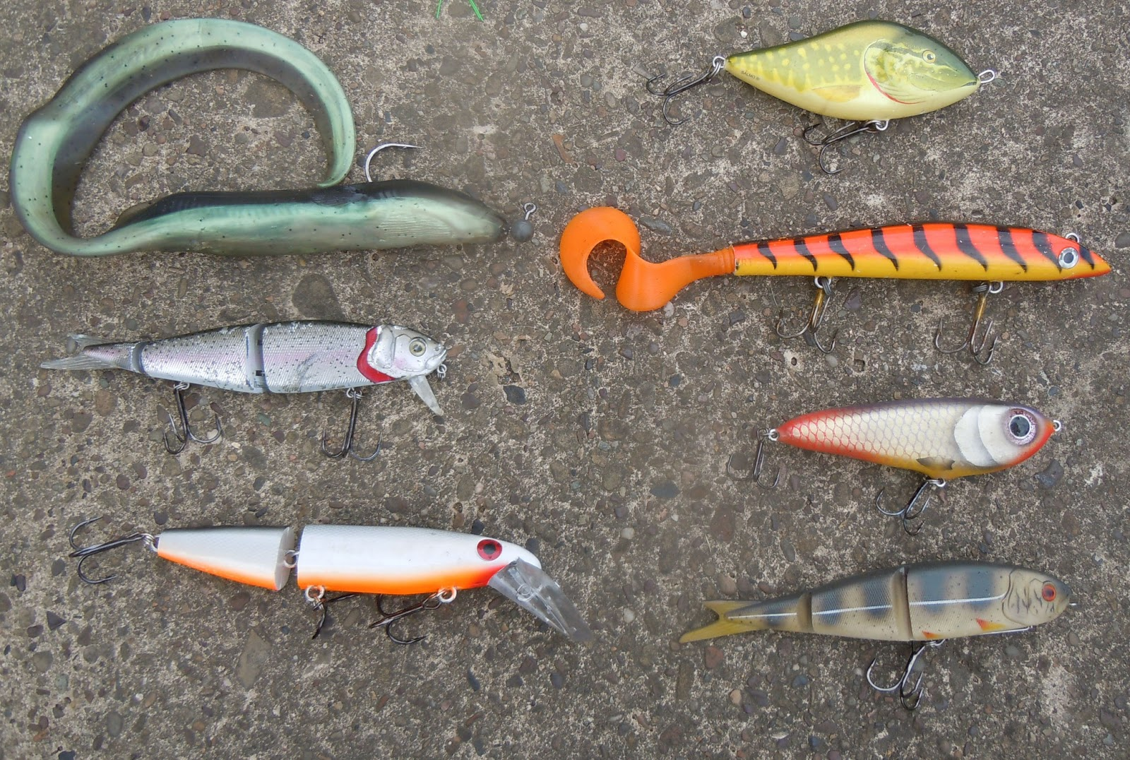 A newbie guide from riverpiker lure lounge for Best lures for river fishing