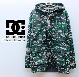jaket parka army hijau