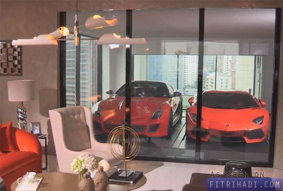bagaimana jutawan singapore parking kereta