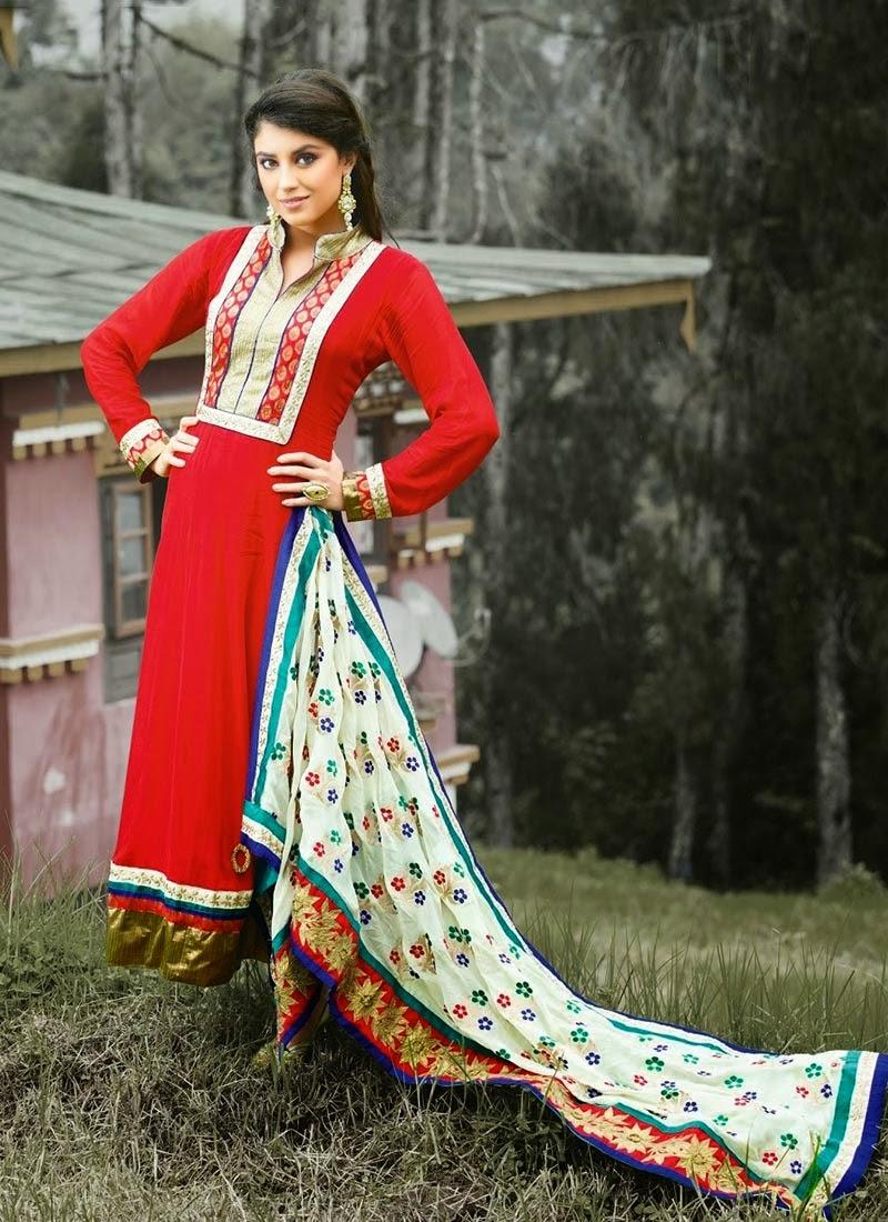 http://www.cbazaar.com/salwar-kameez/trendy-salwars/ravishing-red-georgette-kalidar-suit-p-slcvi2507.html