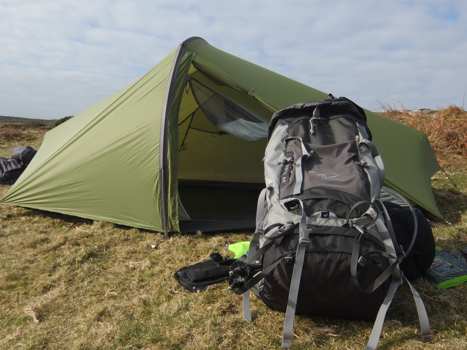 Great stuff from Osprey perhaps the best entry level backpacking tent? & Outdoor Equipment | News + Reviews: Review: Osprey Kestrel 68 Rucksack