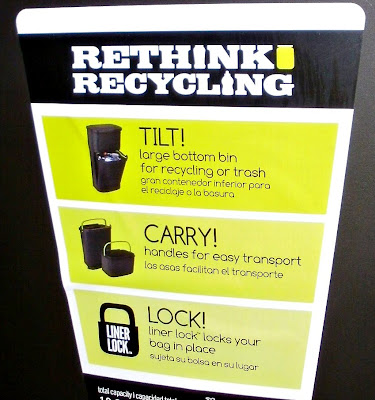 Rubbermaid, Easy, Convenient, Recycling Solutions