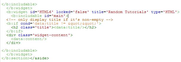 HTML6 Script HTML Default