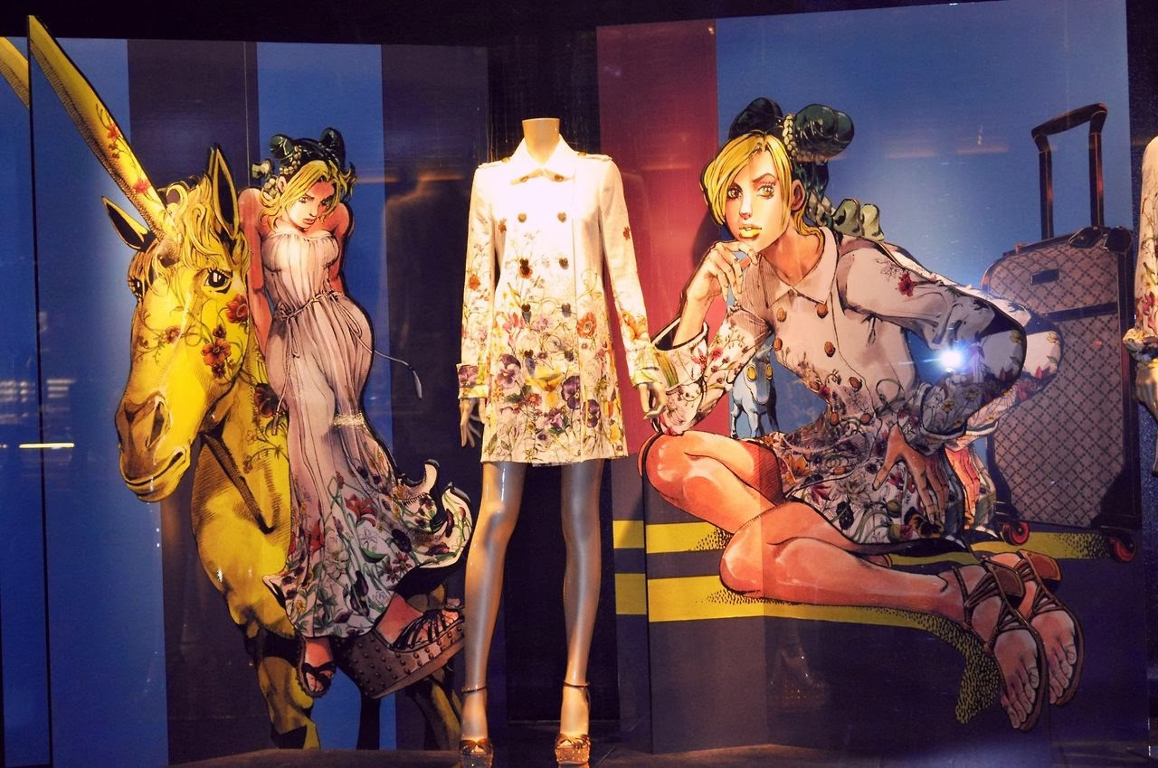 Emma\u0027s art blog Hirohiko Araki X Gucci