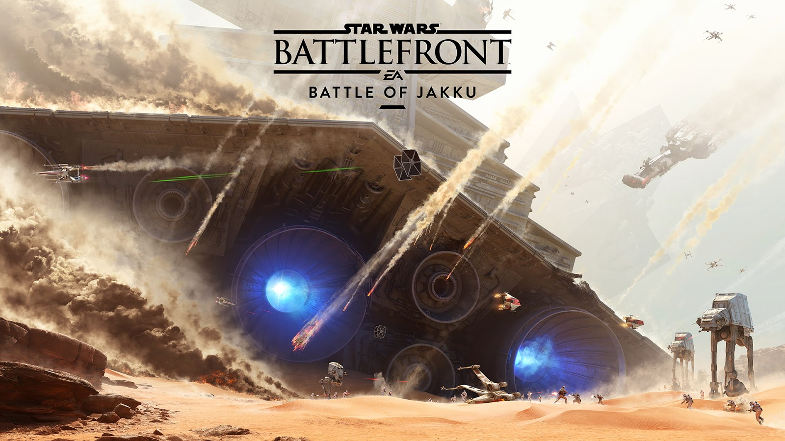 DICE detalha o DLC Battle of Jakku para Star Wars: Battlefront