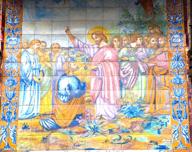 La cer mica de triana en la iglesia san pedro el diario - Ceramica san pedro ...