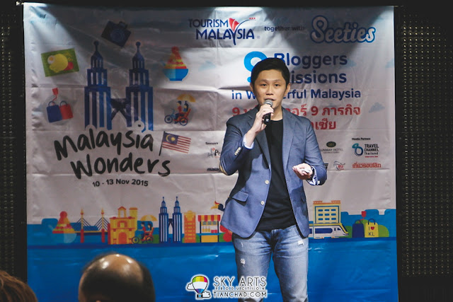 Malaysia Wonders Press Conference at Grand Millennium KL- Speech by David Lim, one of the founder of Seeties