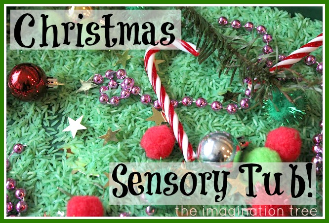 Christmas sensory tub the imagination tree for What is open on christmas day near me