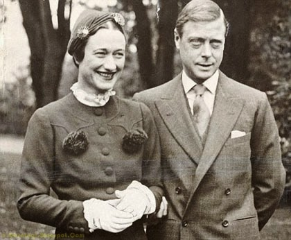 Raja Edward VIII & Wallis Simpson
