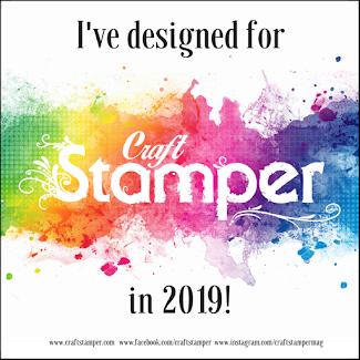 In de tijdschrift Craft Stamper