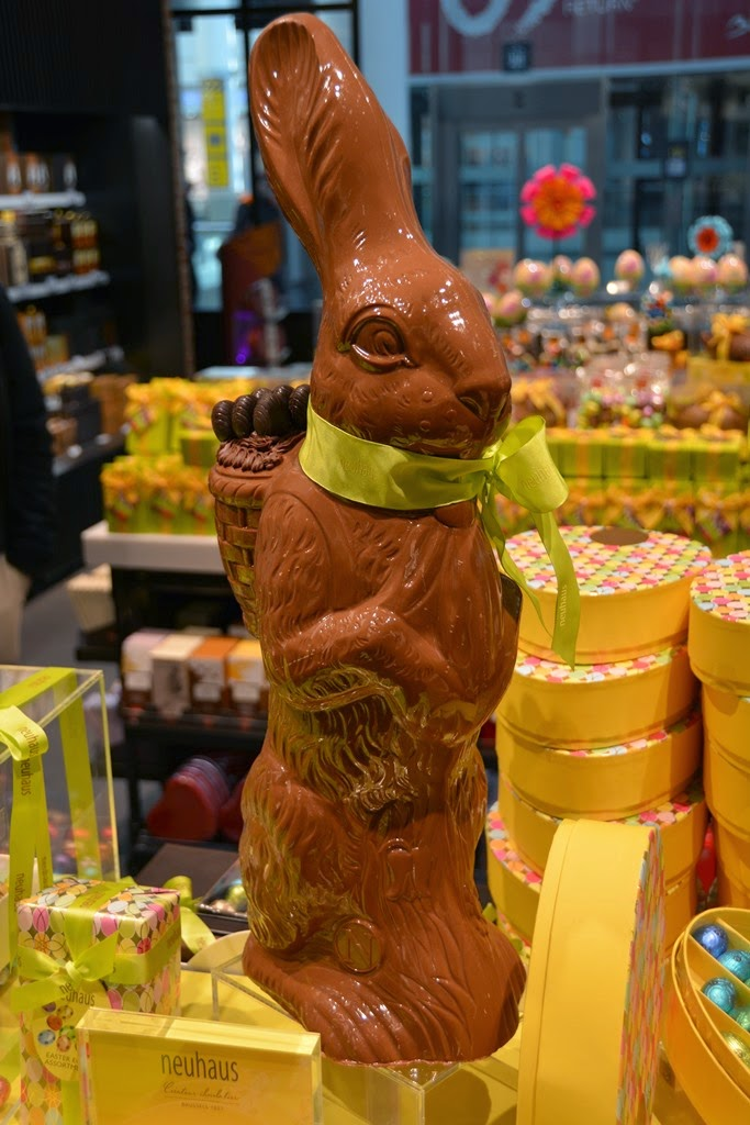 The Belgian Chocolate House Neuhaus Easter Bunny